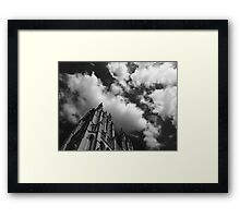 B&W Gothic Cathedral  Framed Print
