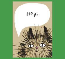 Hey Cat.  Kids Tee