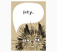 Hey Cat.  One Piece - Short Sleeve