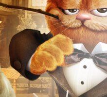 Garfield Romance Sticker