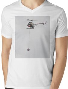 Yoyo Helicopter,Avalon Airshow,Australia 2015 Mens V-Neck T-Shirt
