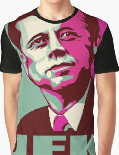 JFK Shepard Hope Style Poster (Emerald) Graphic T-Shirt