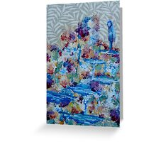 Amidst The Palette by 'Donna Williams' Greeting Card