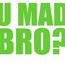 U MAD BRO? - SEATTLE SEAHAWKS by MOHAWK99