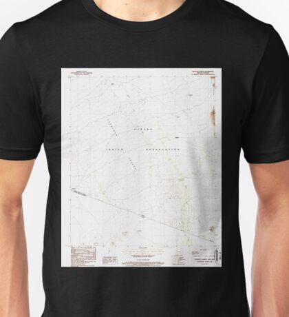 USGS TOPO Map Arizona AZ Tecolote Ranch 313671 1988 24000 Unisex T-Shirt