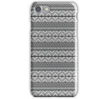 Grey Pattern iPhone Case/Skin