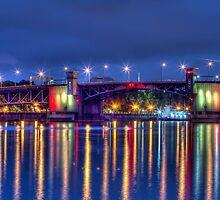 Morrison Street Bridge in Portland by thomr