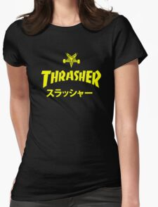 Trasher Baphomet Womens Fitted T-Shirt