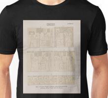 0627 Ptolemaeer Ptol IX Euergetes II Edfu Idfû a d Grosser Tempel abPronaos aeussere Ostwand der Cella cd Pronaos Kleiner Tempel über dem Eingang Unisex T-Shirt
