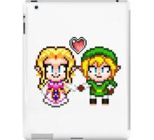 Link and Zelda In Love - Pixel Art iPad Case/Skin