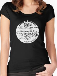 Dr Who and the Silurians Women's Fitted Scoop T-Shirt