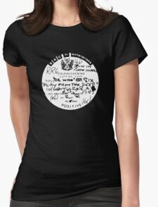 Dr Who and the Silurians Womens Fitted T-Shirt