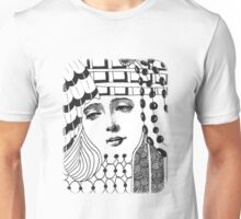 Tangled Face Unisex T-Shirt