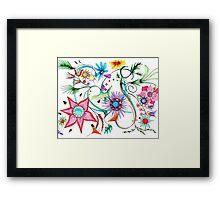 Gipsy Garden Framed Print