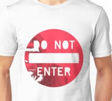 HARAMBE DO NOT ENTER Unisex T-Shirt