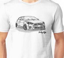 Stanced Veloster Sketch Unisex T-Shirt