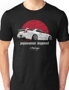 Skyline GTR R34 (white) T-Shirt