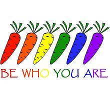 rainbow carrots II Photographic Print