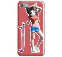 Skater Kitty iPhone Case/Skin