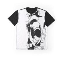 Young Kakashi Graphic T-Shirt
