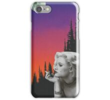 Mystery Woman iPhone Case/Skin