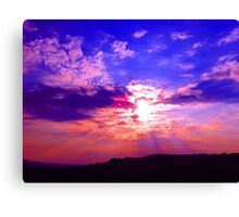 Big Blue (LS.49) Canvas Print
