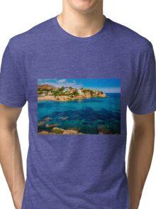 Sunshine at Cala d'Enmig Tri-blend T-Shirt
