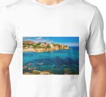 Sunshine at Cala d'Enmig Unisex T-Shirt