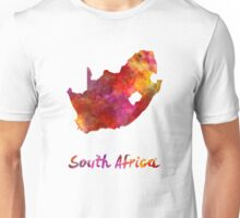 South Africa  in watercolor Unisex T-Shirt