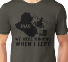 Iraq- Winning when I left Unisex T-Shirt