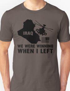 Iraq- Winning when I left T-Shirt