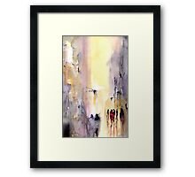 The Way It Is Framed Print