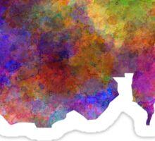 Sudan in watercolor Sticker