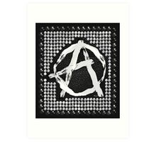 A for anarchy Art Print