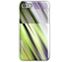eight frames of  green lily-movement iPhone Case/Skin