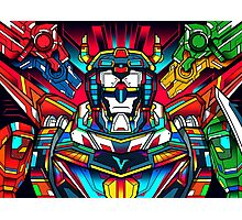 Voltron Full Defender Photographic Print