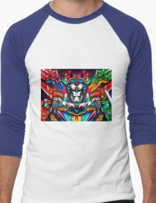 Voltron Full Defender Men's Baseball ¾ T-Shirt