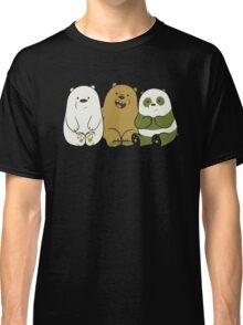 We bare bears cute Classic T-Shirt