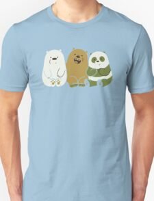 We bare bears cute Unisex T-Shirt