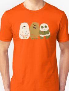 We bare bears cute Unisex T-Shirt