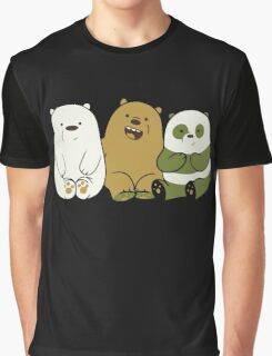 We bare bears cute Graphic T-Shirt