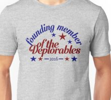 Founding Member of the Basket of Deplorables Unisex T-Shirt