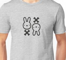 The cute bunny of death Unisex T-Shirt