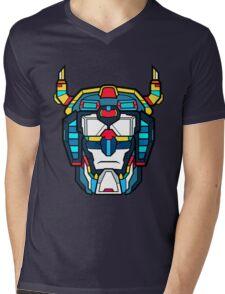 Voltron Head Defender Mens V-Neck T-Shirt