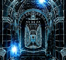 Abstract Gothic Architecture by Phil Perkins