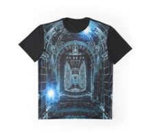 Abstract Gothic Architecture Graphic T-Shirt