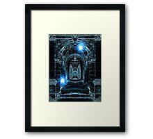 Abstract Gothic Architecture Framed Print