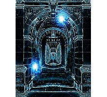 Abstract Gothic Architecture Photographic Print