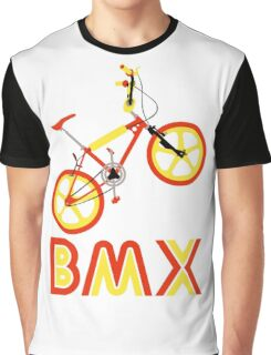 BMX (Red & Yellow) Graphic T-Shirt