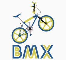 BMX (Blue & Yellow) Kids Tee